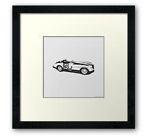 Mercedes SLR 300 Framed Print
