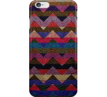Leather Colorful Chevron Stripes Pattern #3 iPhone Case/Skin