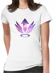 Mercy Logo - Galaxy Womens Fitted T-Shirt