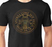 Bohemian Grove Owl Logo - Golden Unisex T-Shirt