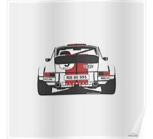 Porsche 911 rear Poster