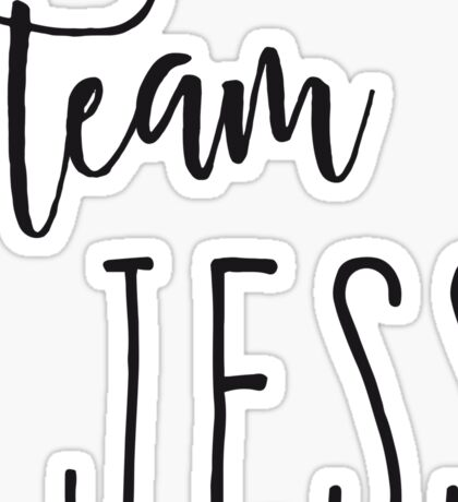 Team Jess Sticker