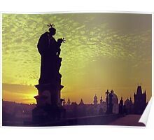 The Charles Bridge (Karlův Most) Prague, Kodachrome 64 Poster