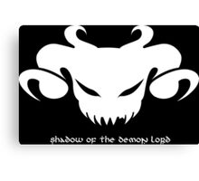 Shadow of the Demon Lord Canvas Print