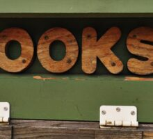 Books, books, books Sticker