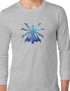 Zenyatta Logo - Galaxy Long Sleeve T-Shirt