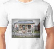 Old Barber Shop Unisex T-Shirt