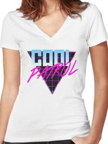 Cool Patrol Women's Fitted V-Neck T-Shirt