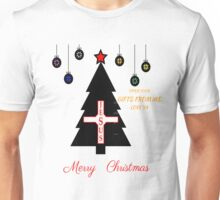 MERRY CHRISTMAS OPEN YOUR GIFTS JESUS T-SHIRT Unisex T-Shirt
