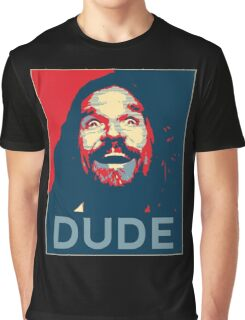 Big Lebowski - Dude Poster Graphic T-Shirt