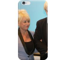 Barbara Windsor & Boris Johnson iPhone Case/Skin