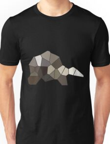 A simple geometric  turtle on a simple journey  Unisex T-Shirt