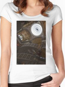 Gone Shopping - Forum Shops at Caesars Palace, Las Vegas Women's Fitted Scoop T-Shirt