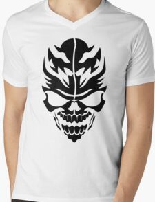 Skull Mens V-Neck T-Shirt