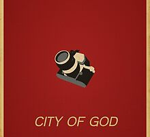 City Of God - Minimalist Movie Poster by WASABISQUID