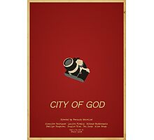 City Of God - Minimalist Movie Poster Photographic Print