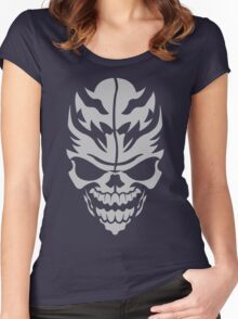 Skull Women's Fitted Scoop T-Shirt
