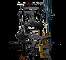 Firearm Collage by Craig Stronner