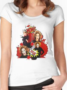 Kylie Minogue - Confide In Me - Comic Book Red Women's Fitted Scoop T-Shirt