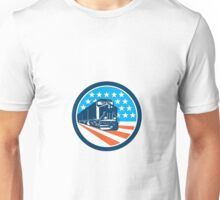 Diesel Train American Stars Stripes Retro Unisex T-Shirt