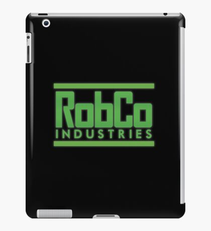 RobCo Industries iPad Case/Skin