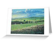 COWS  IN A FIELD Greeting Card