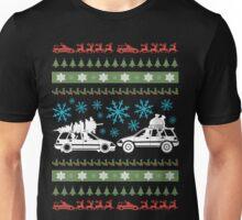 Xmas dual wagons Unisex T-Shirt