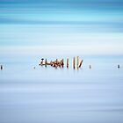 Happisburgh Beach Abstract by Graham Gilmore