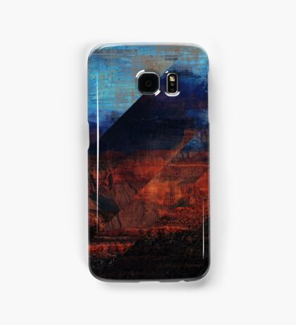 Deconstructing Time Altered Landscapes Grand Canyon Samsung Galaxy Case/Skin