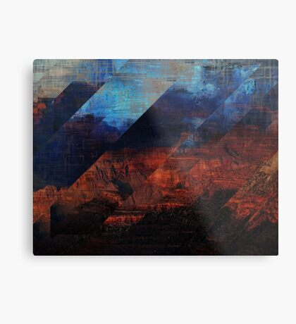 Deconstructing Time Altered Landscapes Grand Canyon Metal Print