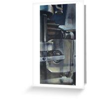 Hopper mécanique Greeting Card