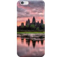 HDR Angkor Wat Sunrise iPhone Case/Skin