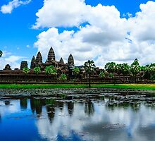 Daytime Angkor WAt by Casperry