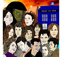 A time lords family Photographic Print