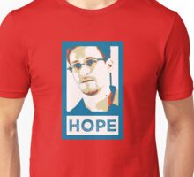 Edward Snowden is HOPE Unisex T-Shirt