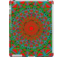 Red/Green Chakra iPad Case/Skin