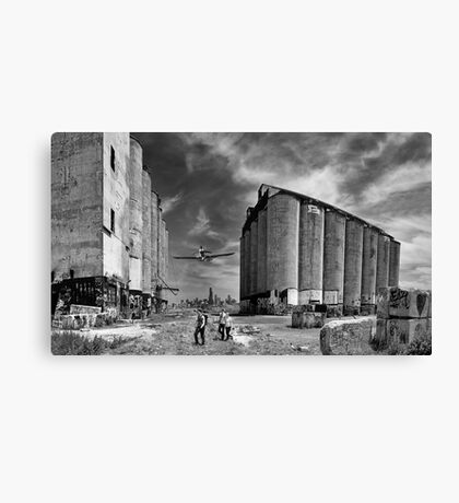 Urban Exploring Canvas Print