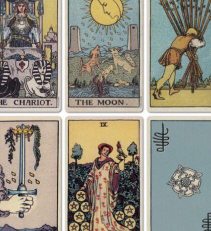 6 Tarot Card Sticker
