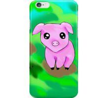 Cute Pink Pig iPhone Case/Skin