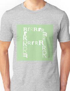 Found Letters - R Unisex T-Shirt