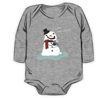 Snowman Who Loves Hot Cocoa One Piece - Long Sleeve