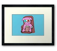 Movie Pig Framed Print