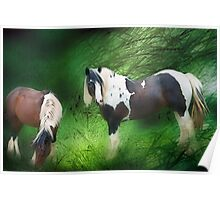 Lush meadow Poster