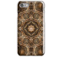 Fractal Steel Tube Earth Tone Chisel iPhone Case/Skin