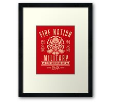 Fire is Fierce Framed Print