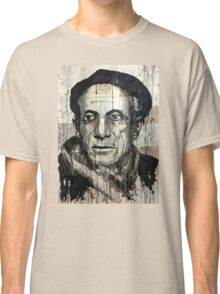 old book drawing famous people picasso bablo Classic T-Shirt