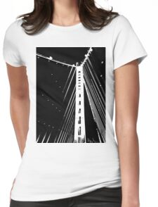 Bay Bridge N Womens Fitted T-Shirt