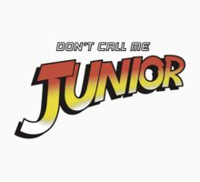 Don't Call Me Junior One Piece - Short Sleeve