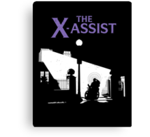The X-Assist Canvas Print