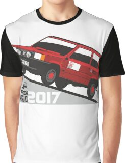 Fiat Panda personalized for June Graphic T-Shirt